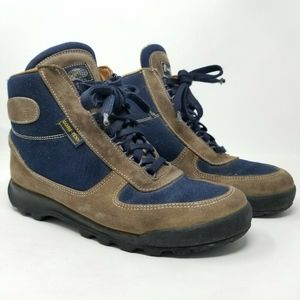 Vasque Womens Skywalk Brown Navy Blue Hiking Boots